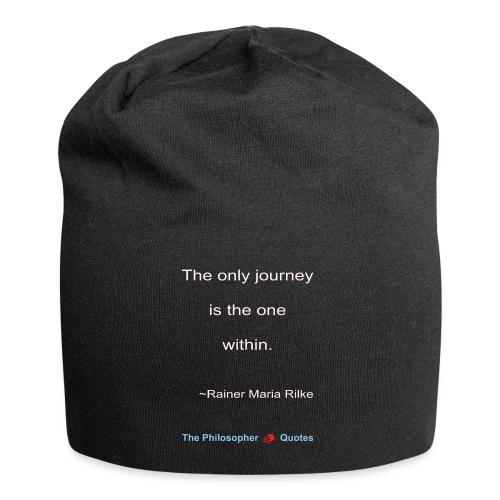 Rainer Maria Rilke The journey within Philosopher - Jersey-Beanie
