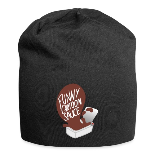 FUNNY CARTOON SAUCE - FEMALE - Jersey Beanie