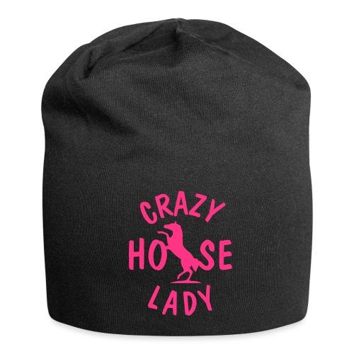 Vorschau: crazy horse lady - Jersey-Beanie