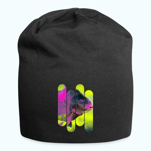 Neon colors fish - Jersey Beanie