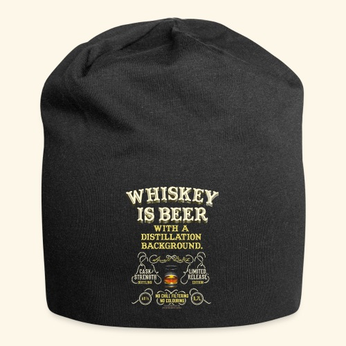 Whiskey Is Beer - Jersey-Beanie