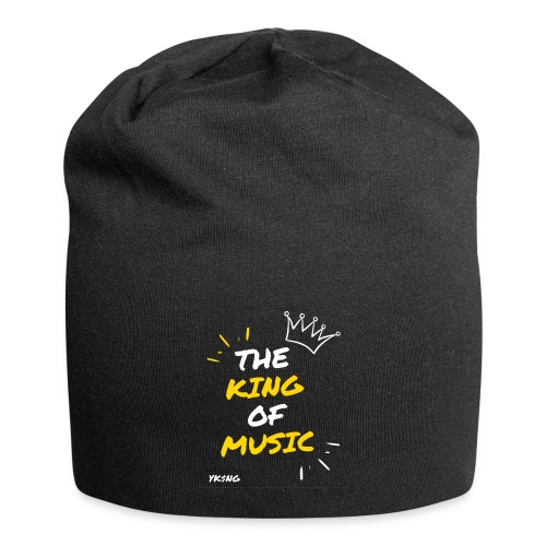The king Of Music - Gorro holgado de tela de jersey