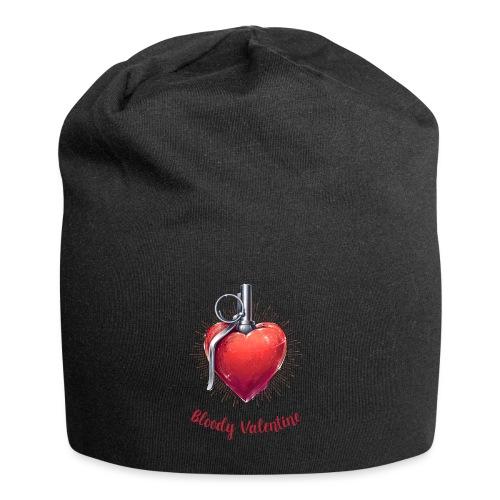 Bloody Valentine Design - Valentinstag Geschenk - Jersey-Beanie