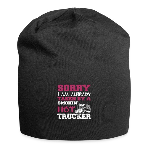 hot trucker - Bonnet en jersey