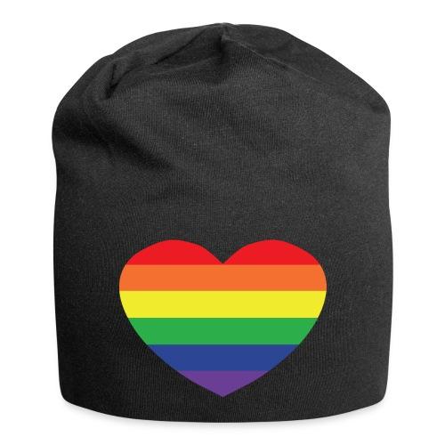 Rainbow heart - Jersey Beanie