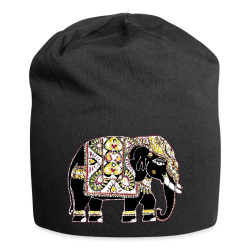 Indian elephant for luck - Jersey Beanie