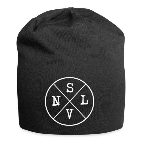 SLVN White Logo - Jersey Beanie