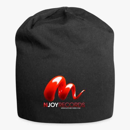 Logo Njoy Records Blanc - Bonnet en jersey