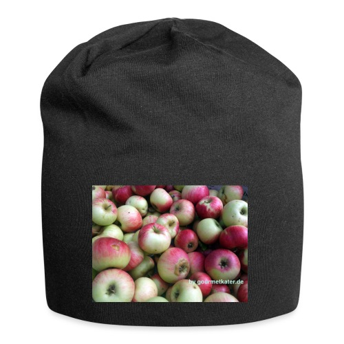 Äpfel - Jersey-Beanie