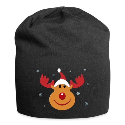 Rudolf for christmas - Jersey-Beanie
