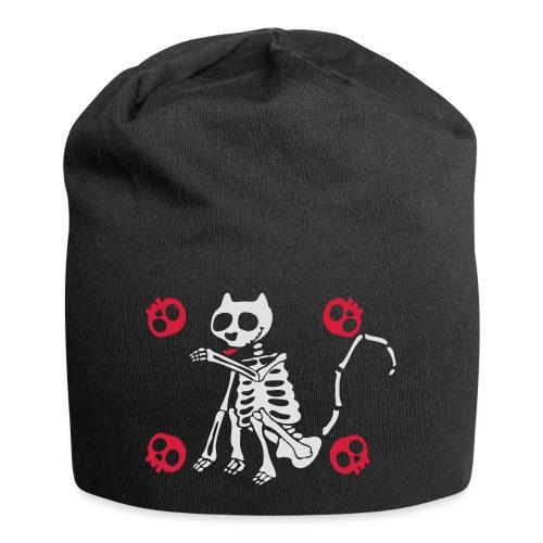 Katzen Skelett - Jersey-Beanie