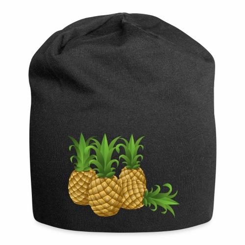 Ananas - Jersey-Beanie