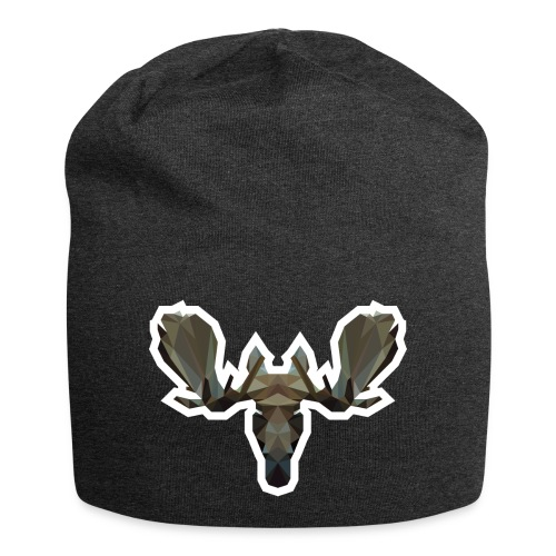 Low Poly Moosehead - Jersey-Beanie