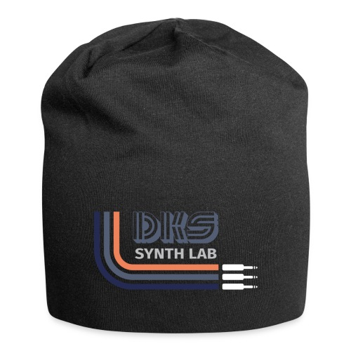 DKS SYNTH LAB Curved Blue-Orange - Beanie in jersey