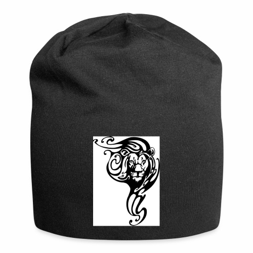 Leone tribale - Beanie in jersey