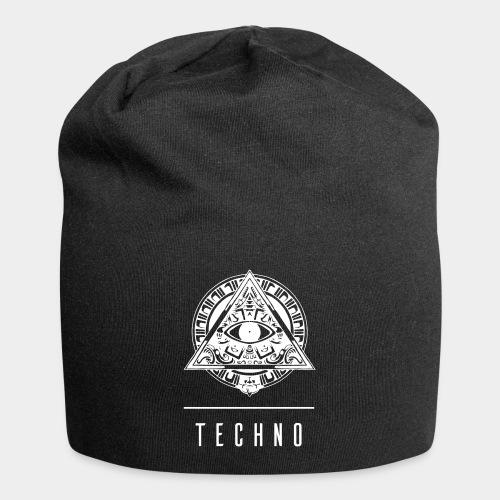 the EYE of TECHNO - Jersey-Beanie
