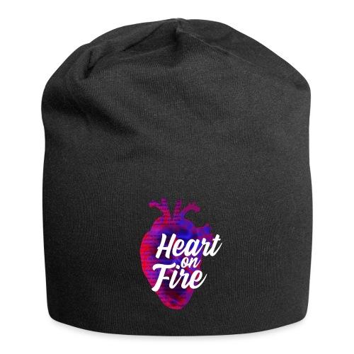 Heart on fire - Bonnet en jersey