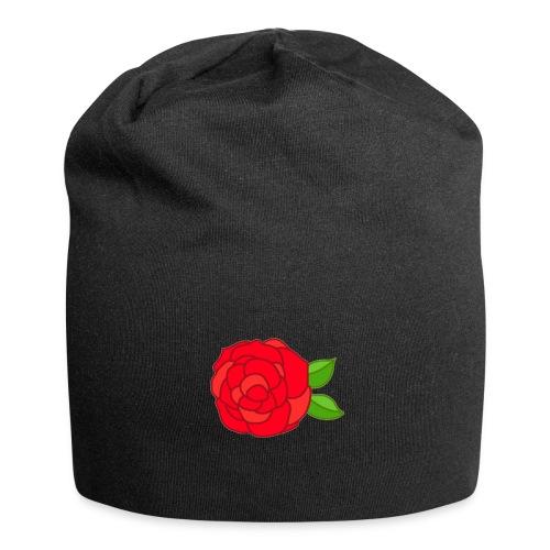 Róża - Czapka krasnal z dżerseju