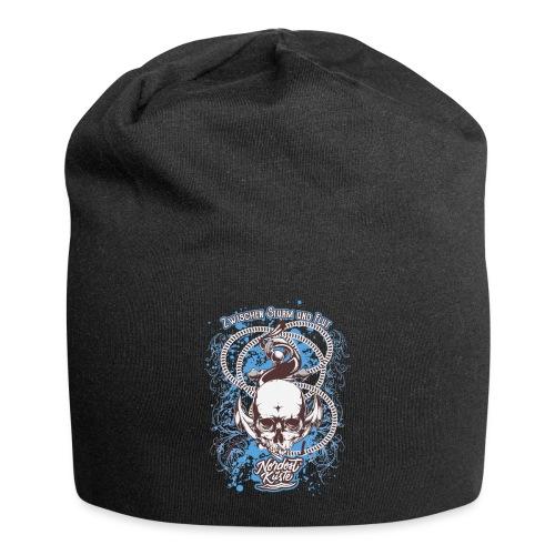 Skull Anker Design Art - Jersey-Beanie