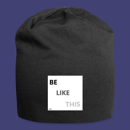 Be Like This - Gorro holgado de tela de jersey