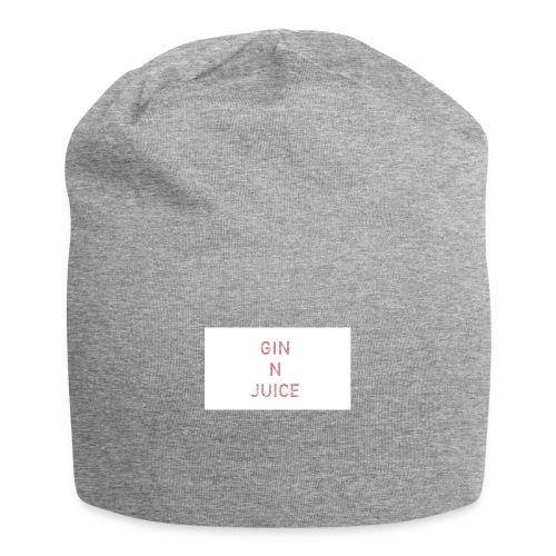 Gin n juice geschenk geschenkidee - Jersey-Beanie