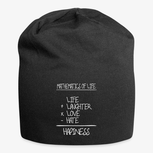 Mathematics of life - Jersey-Beanie