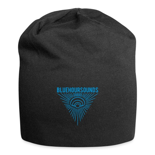 New Blue Hour Sounds logo triangle - Jersey Beanie