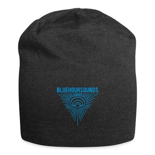 New Blue Hour Sounds logo triangle - Jersey Beanie