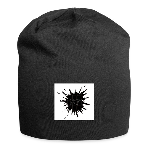 Blacktuber Splash Logo - Jersey-Beanie