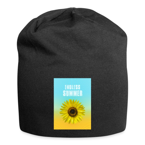 sunflower endless summer Sonnenblume Sommer - Jersey Beanie