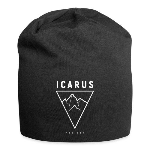 LOGO ICARUS blanc - Bonnet en jersey