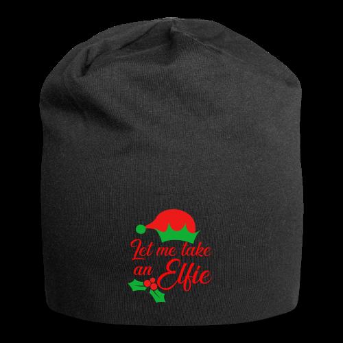 Weihnachten | Elf Mütze Weihnachtself Wortspiel - Jersey-Beanie