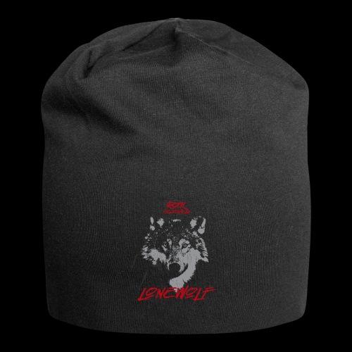 Einsamer Wolf - Jersey-Beanie