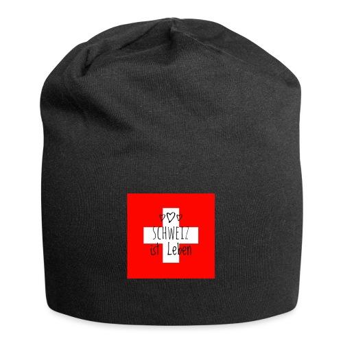 Schweiz beste - Jersey-Beanie