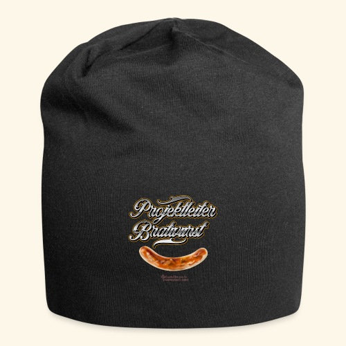 Grillen Design Projektleiter Bratwurst - Jersey-Beanie
