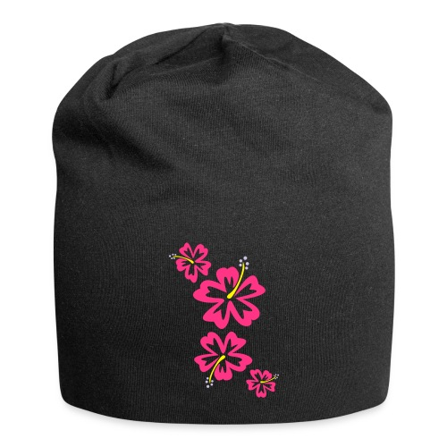 Hawaii Flower - Jersey-Beanie