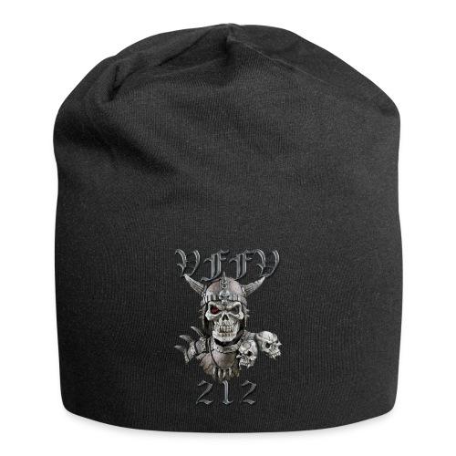 Viking skull rød stor png - Jersey-Beanie