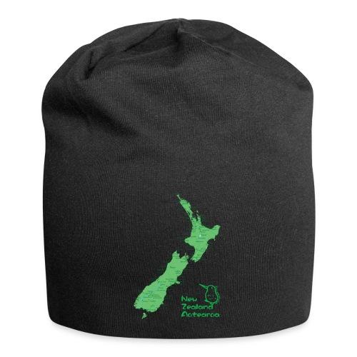 New Zealand's Map - Jersey Beanie