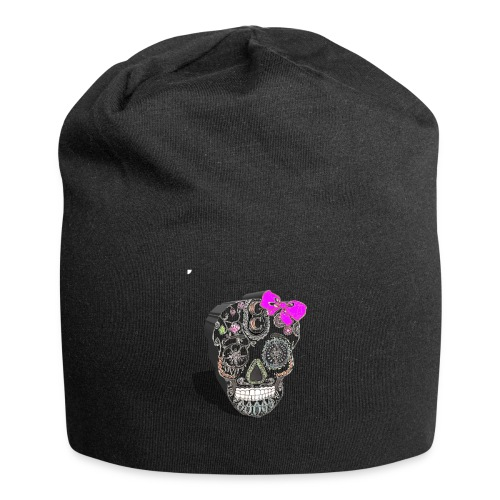 Tête de mort mexicaine 3D - Bonnet en jersey