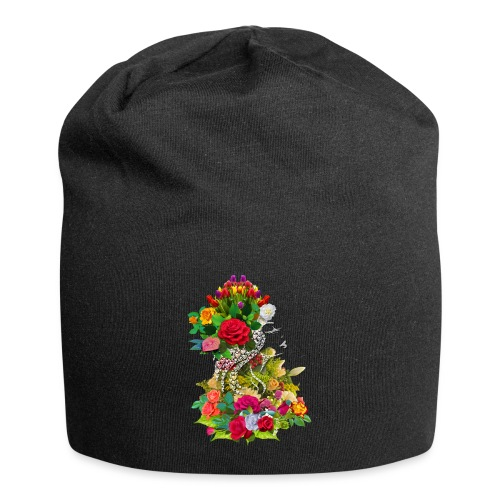 Lady flower - Bonnet en jersey