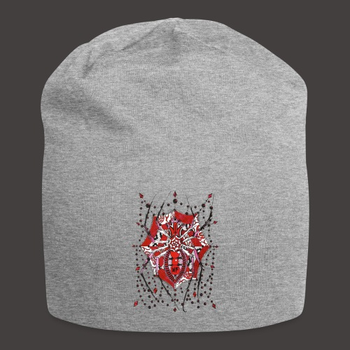 Spider Dentelle Red - Bonnet en jersey