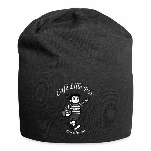 Cafe LillePer Logo BW - Jersey-Beanie
