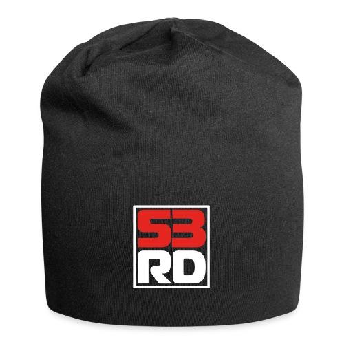 53RD Logo kompakt umrandet (weiss-rot) - Jersey-Beanie