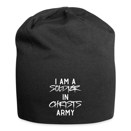 I am a soldier in Jesus Christs army - Jersey-Beanie