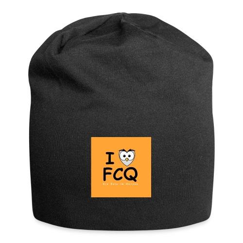 I Love FCQ button orange - Jersey-Beanie