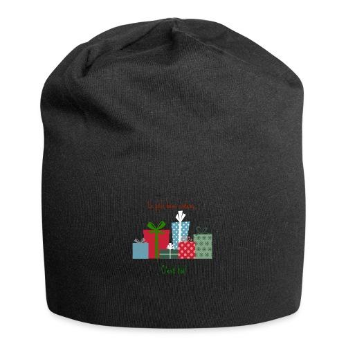 Le plus beau cadeau - Bonnet en jersey