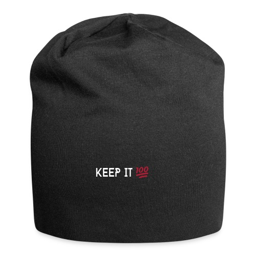 KEEP IT 100 WIT png - Jersey-Beanie