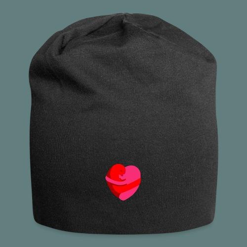 hearts hug - Beanie in jersey