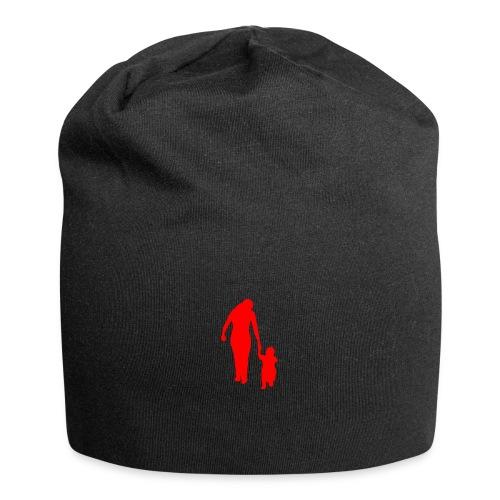 Sporttasche Schwarz/Rot - Jersey-Beanie