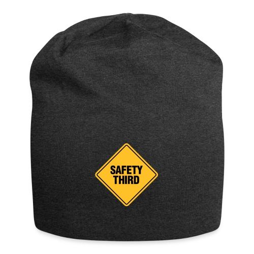 SAFETY THIRD - Jersey Beanie